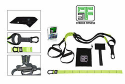 Suspension Trainer - Free Sports Towel and Full Body Workout Guide - 3 colors
