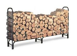 Wood Racks For Firewood Outdoor Stand 8 Feet Fireplace Stove Log 23 Face Cord