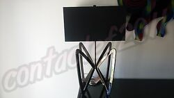Phillips Collection BUTTERFLY Contemporary Table Lamp in BLACK NICKLE BRAND NEW $349.99