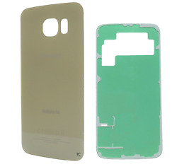 Replacement Glass Back Cover w Adhesive for Samsung Galaxy S6 Gold G920 $100.00