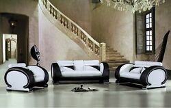 Factory Direct Modern Sofa Set Bonded Leather