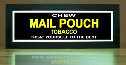 Mail Pouch Tobacco LED Illuminated Sign - Nostalgic Light Box w remote