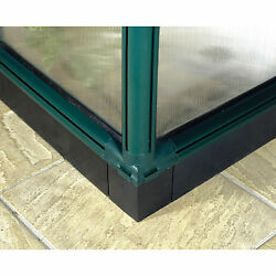 Greenhouse Base Kit 4 Foot Extension Green Color Blends Improve Durability New