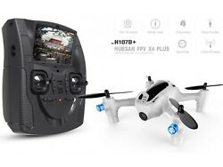 Hubsan Drone FPV H107D+ Quadcopter 720p HD Camera LCD Controller Refurbrished $49.99