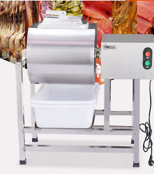 Stainless Steel Meat Salting Machine Meat Poultry Tumbler Machine 25L $943.99