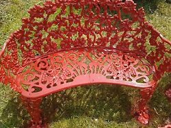 Old Vintage Heavy Cast IronWrought Iron Patio Furniture 4 Pieces plus 10 shutt.