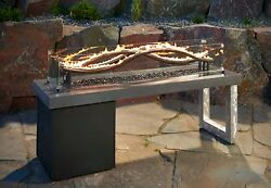 Outdoor GreatRoom Company The Wave Fire Pit