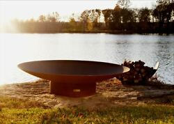 Fire Pit Art Asia Wood Fire Pit 72-Inch