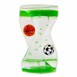 Dual Color Liquid Motion Zig Zag Timer Calming Bubbler Spinning (Sports Timer)  $8.99