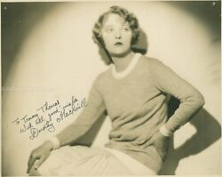 DOROTHY MACKAILL - INSCRIBED PHOTOGRAPH SIGNED