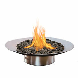 Fire Pit Art Bella Vita Fire Pit 58-Inch Electronic Ignition Propane