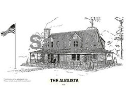 Log Cabin Kit The Augusta from American Log Homes