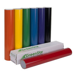 24quot; x 10YD Roll GreenStar Sign Vinyl For Banners Decals Windows Lettering 3mil $34.99