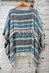NEW Merino Loose Weave Poncho The Spotted Quoll Womens Fashion Accessories