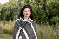 NEW Merino Wanderer Throw The Spotted Quoll Womens Fashion Accessories