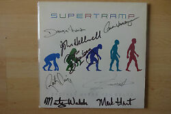 Supertramp full signed LP-Cover