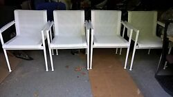 Knoll 1966 DINING Arm Chair Richard Schultz Outdoor Collection Knoll Studio