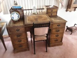 Antique desk Excellent condition. Center flips up for storage. $659.00