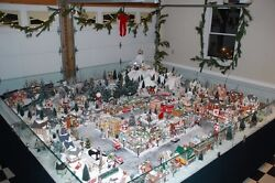 department 56 snow village Large Collection