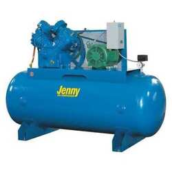 JENNY U75B-80-2301 Air CompressorHorizontal Tank7-12 HP