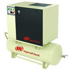 INGERSOLL RAND UP6-5-12580-230-1 Rotary Screw Air Compressor5 HP1 Ph