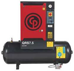 CHICAGO PNEUMATIC QRS 7.5 HP Rotary Screw Air Compressor7.5HP1Ph $5,549.83