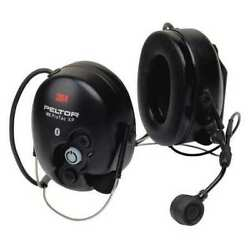 3M MT15H7BWS5-77 Headset27dBBehind-the-Head Earmuff