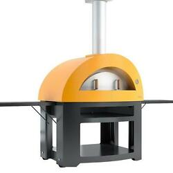 Wood Fired Ovens Home Outdoor Pizza Oven Portable Backyard Cart Pub Brick BBQ