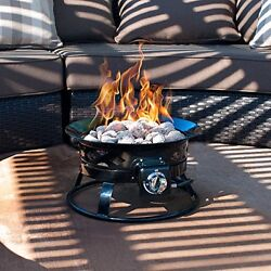Patio Portable Outdoor 58000 BTU Propane Fire Pit 19