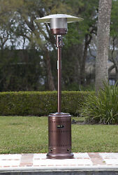 New Electric Propane Gas Patio Outdoor Table Top Natural Gas Heater Fire Pit