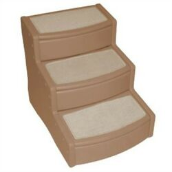 PET GEAR EASY STEP EXTRA WIDE CAT DOG STAIRS PORTABLE FOR COUCH OR BED