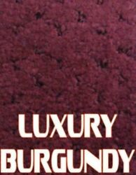 Outdoor Marine Boat Carpet - 24 oz - 8.5' x 25' - Color: LUXURY BURGUNDY