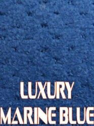 Outdoor Marine Boat Carpet - 24 oz - 8.5' x 25' - Color: LUXURY MARINE BLUE