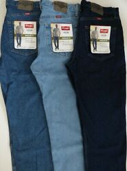 Wrangler Regular Fit Jean Five Star Mens Size Big and Tall $31.99