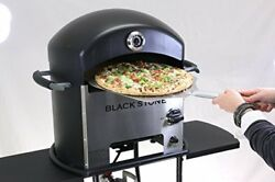 Patio Outdoor Pizza Oven Swivel Caster Cook Barbecue Grill Smokers Eating Yard