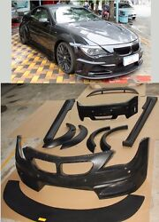 for BMW 6 series E63 E64 WIDE BODY KIT M6 630i 645i 650i 2003-2010