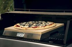 Pizza Stone For Grill Kit Set Outdoor Frozen For Oven Pizzacraft Thermometer