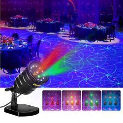 Suaoki Christmas Laser Light Outdoor Projector Motion Star Light Show with Laser