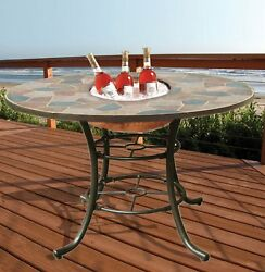 Deeco DM-104201 3-in-1 Rock Canyon Dining Table