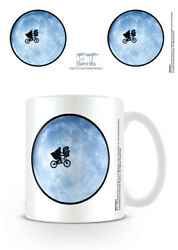 E.T. - THE EXTRA-TERRESTRIAL - CERAMIC COFFEE MUG  CUP (BICYCLE  MOON)