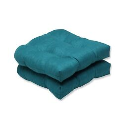 Wicker Seat Cushion For Home Outdoor Patio Chaise Seater Furniture Rave Teal