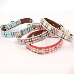 Leather Dog Collarscollars with rhinestones dog collar collars for dogs $13.49