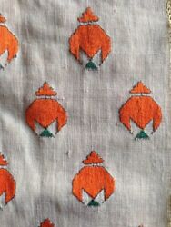 774 Antique Nuristan Swat Valley Phulkari Shawl Textile