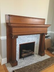 Greek Revival Fire Place Mantel