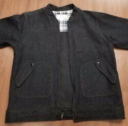 Filson Wool Jacket - Charcoal - Lightly Used - XL - FREE Air Shipping