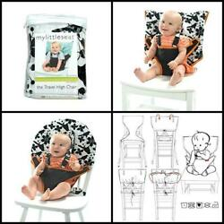 Cotton Plastic Travel Highchair Ultra Portable Machine Washable High Chair New