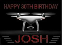 PERSONALISED DRONE PHANTOM 3 4 A5 BIRTHDAY CARD ANY NAME AGE GREETING OCCASION GBP 3.70