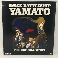 Space Battleship Yamato Perfect collection Japan Laserdisc Anime Manga Otaku