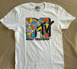 New MTV T-shirt Rock Vintage style Original classic Graphic 80's