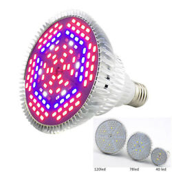 28 LED Plant Grow light lamp Lighting Flower Vegetable Full Spectrum Bulb indoor $7.99